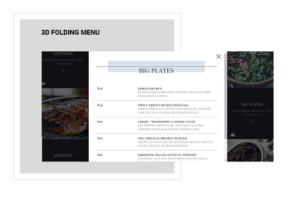 Lily | Responsive One Page Restaurant - 11
