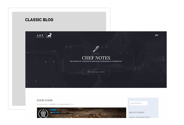 Lily | Responsive One Page Restaurant - 8