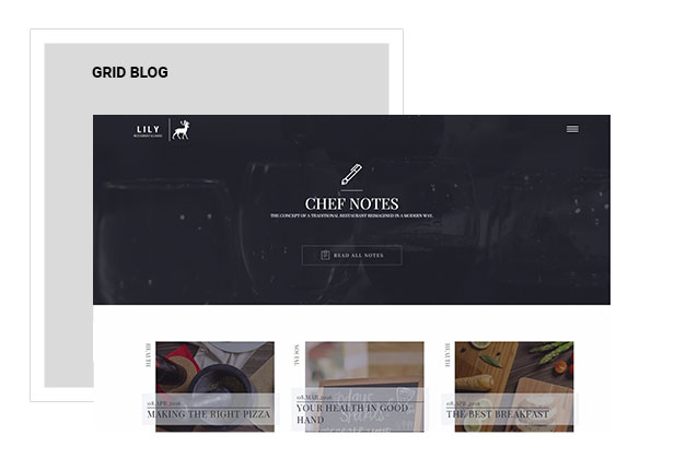 Lily | Responsive One Page Restaurant - 9