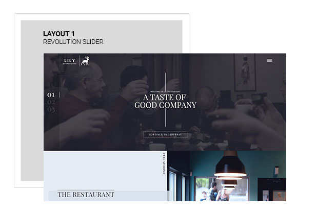Lily | Responsive One Page Restaurant - 2