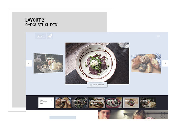 Lily | Responsive One Page Restaurant - 3