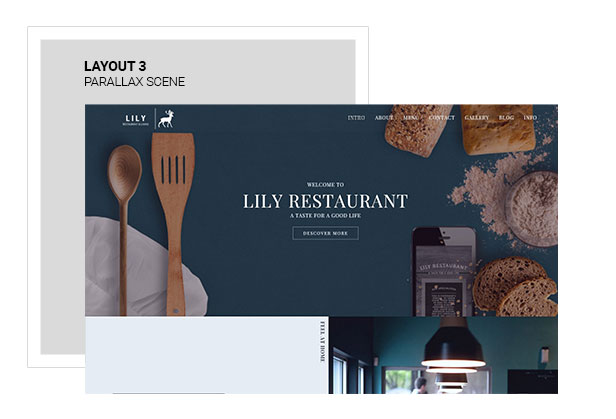 Lily | Responsive One Page Restaurant - 4