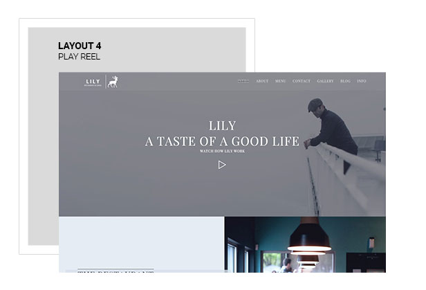 Lily | Responsive One Page Restaurant - 5
