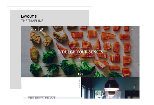 Lily | Responsive One Page Restaurant - 6