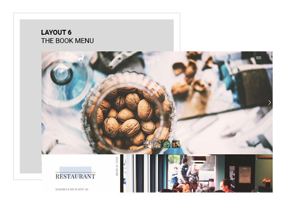Lily | Responsive One Page Restaurant - 7